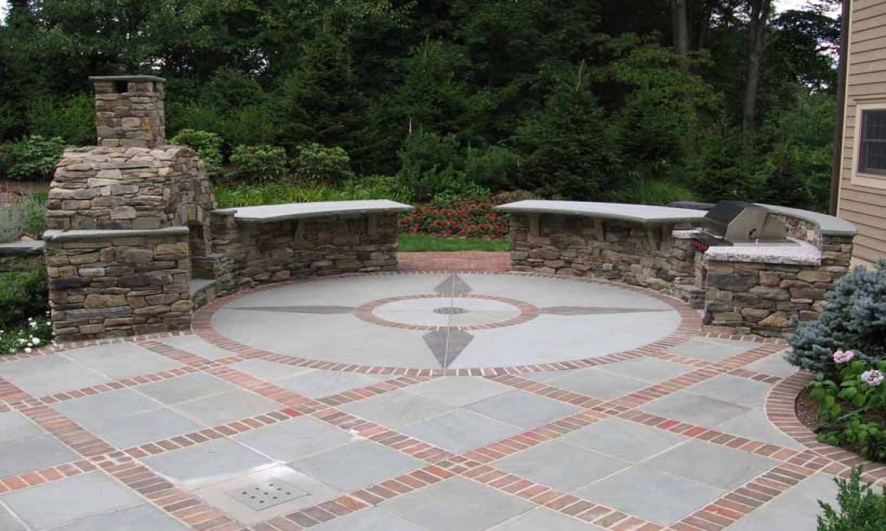 Gentil Concrete And Masonry Patio Ideas